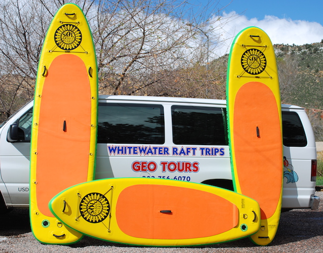 Geo Tours Stand Up Paddleboard (SUP) Rental Program. CALL 800-660-7238