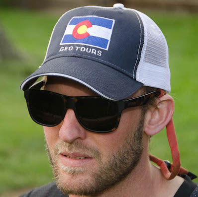 Colorado Flag Trucker Deluxe – $22.00 each Color: Navy/Chrome
