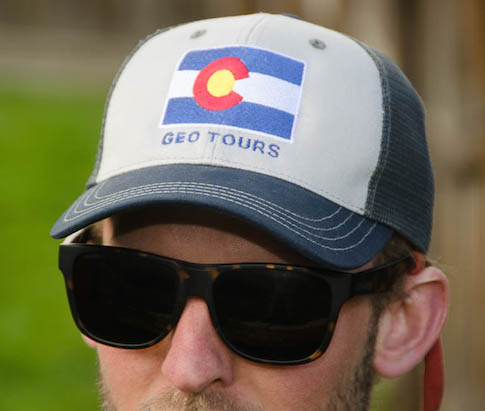 Colorado Flag Trucker – $17.00 each Color: Navy/White