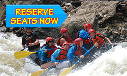 Reserve Upper Colorado River Whitewater Rafting