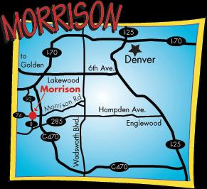 Located near Denver in Morrison Colorado