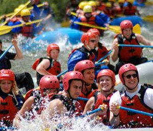 Whitewater rafting group rates available at Geo Tours.