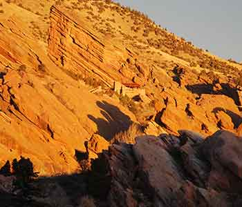 Located near Red Rocks Amphitheater in Morrison Colorado