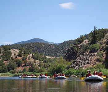 Three rivers in Colorado, part-day to multi-day trips