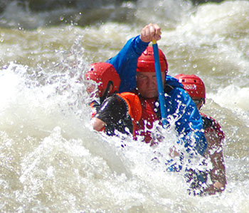 Advanced rafting, Paddle rafts, oar rafts and inflatable kayaks